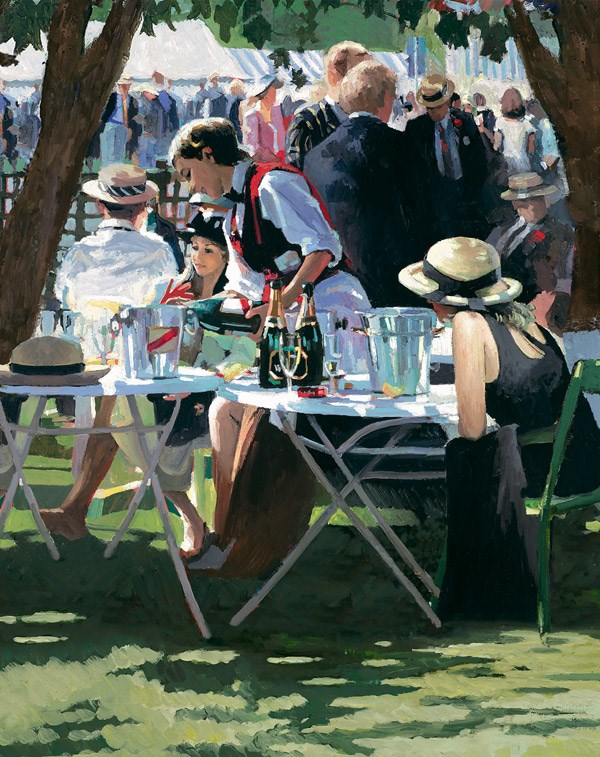 Shared Memories II by Sherree Valentine Daines - Hand Finished Limited Edition on Canvas sized 13x17 inches. Available from Whitewall Galleries